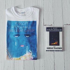 "Tops - ""The Great Gatsby"" T-shirt sz M"